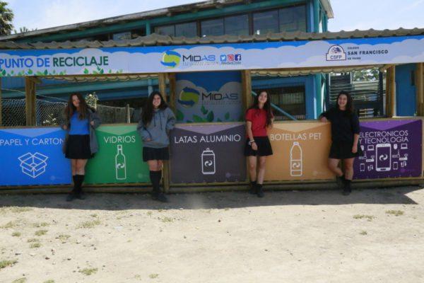 Charla de capacitación, punto limpio Midas Chile