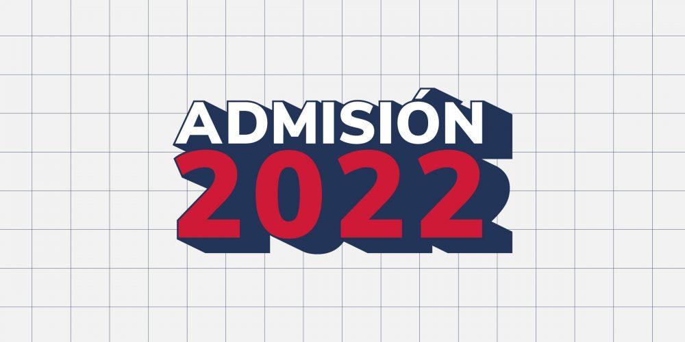 Admisión 2022