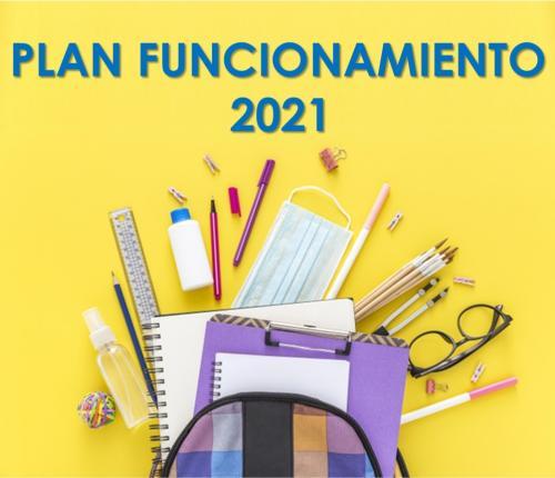 Plan de Funcionamiento 2021- Segundo Semestre