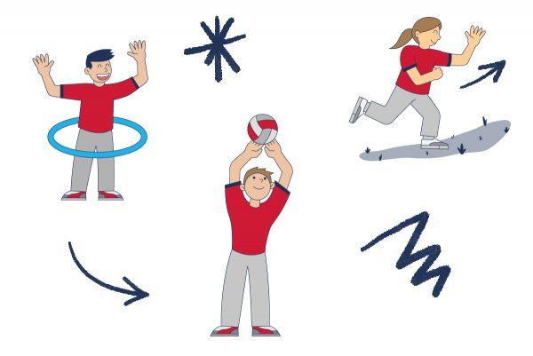 Recuperando la actividad física y vida sana